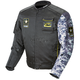Black/Gray Camo U.S. Army Alpha Jacket