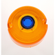 Turn Signal Amber Lens with Blue Dot - DHD2AB