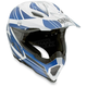 White/Blue Flagstars AX8 EVO Helmet