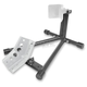 Gloss Black/Silver Powder-Coat GP3 Wheel Chock Stand - 97-3002