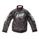 Gray Laser Slasher Jacket