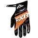 Black/Orange X Cross Gloves