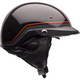 Black/Orange Pin Pit Boss Helmet