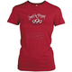 Womens Red To The Nines T-Shirt