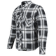 Black/Grey Rust and Redemption Armored Moto Shirt