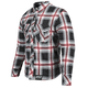 Black/Red Rust and Redemption Armored Moto Shirt
