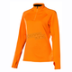 Womens Orange Popsicle Elevation Zip Shirt (Non-Current)