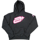 Womens Charcoal Expression Hoody
