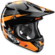 Fluorescent Orange Verge Rebound Helmet