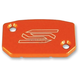 Orange Front Brake Reservoir Cover - 5801
