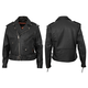 Black Ryder Leather Jacket