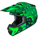 Green/Black CS-MX 2 Graffed MC-4 Helmet