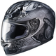 Gray/Black FG-17 MC-5F Valhalla Helmet