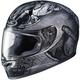 Gray/Black FG-17 MC-5F Valhalla Helmet