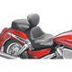 Vintage Sport Touring Seat with Driver Backrest - 79321