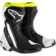 Black/White/Yellow Supertech R Boots