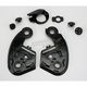 Black Base Plate Set for Multitec Modular Helmet - 01-250