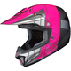 Youth Neon Pink/Gray/Silver CL-XY 2 Cross-Up MC-8 Helmet