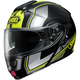Black/Hi Viz/Silver Neotec Imminent TC-3 Modular Helmet