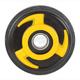 Yellow Idler Wheel w/Bearing - 04-1130-28