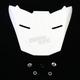White FG-X Helmet Visor - 0967-6001-09