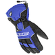 Black/White/Blue Storm Gloves