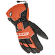 Black/White/Orange Gloves