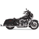 Chrome 33 in. True Dual Fishtail Slip-On Mufflers w/o Baffles - 1F17E36