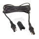 SAE to SAE 10 Amp Waterproof Charge Cable Extension Cord - O23