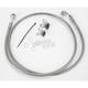 Front Extended Length Braided Stainless Steel Brake Line Kit +10 in. - 1741-2661