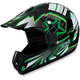 Youth Green Roost Launch Helmet