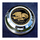 FCM 1.8 Inch Fuel Cap Coin Mount With Support Our Troops 2-Sided Coin - JMPC-FC-THANKTRO