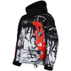Childs Black/White Fury Boost Jacket