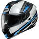 Black/White/Blue GT-Air  Dauntless TC-10 Helmet