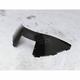 3 3/4in. Low-Cut Black Windshield - 450-150-50