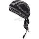 Black Paisley Flydanna Headwrap - Z500