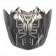 Black/Gray/White MC-5F Visor for CL-X7  El Lobo Helmets - 0964-6011-35