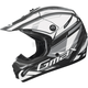 Matte Black/White/Silver GM 46.2 Traxxion Helmet