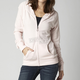 Womens Dusty Rose Incentive Zip Hoody