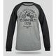 Black/Gray Vintage CR250 Long Sleeve T-Shirt