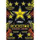 Reflective Gold Rockstar Sticker Sheet - 15-68700