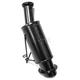 Black Powder Lite Muffler - 02-116PL
