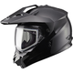 Black GM11S Snow Sport Snowmobile Helmet