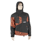 Black/Orange Checker Peak 2 Jacket