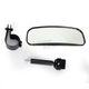 Wide Angle Rearview Mirror - 0640-0857
