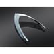 Chrome Taillight Top Trim - 7697