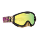Podium Gold Whip MX Goggles w/Smoke/Gold Mirror Lens - 320791013349