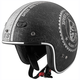 Black/Silver Speed Shop SS600 Helmet