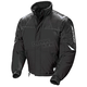 Youth Black/Silver Storm Snowmobile Jacket