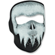 Full-Face Skull Glow Face Mask - WNFM081G
